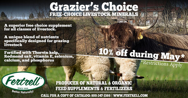 graziers choice special 10% off during May 2020