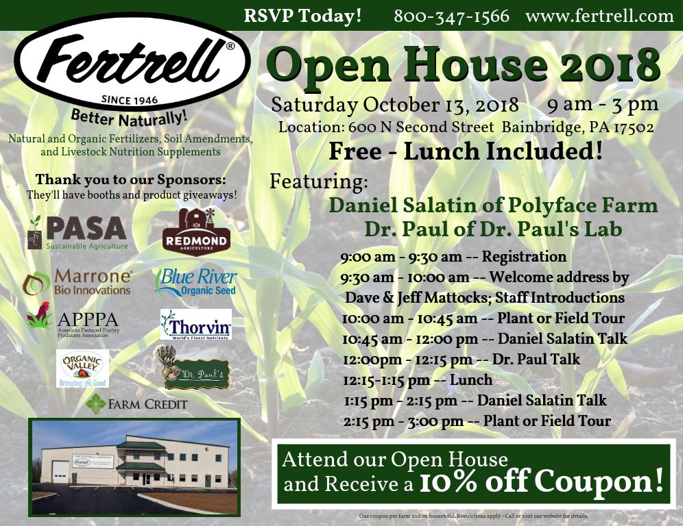 Fertrell Open House 2018